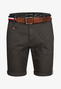 INDICODE JEANS - Shorts - anthracite - 5