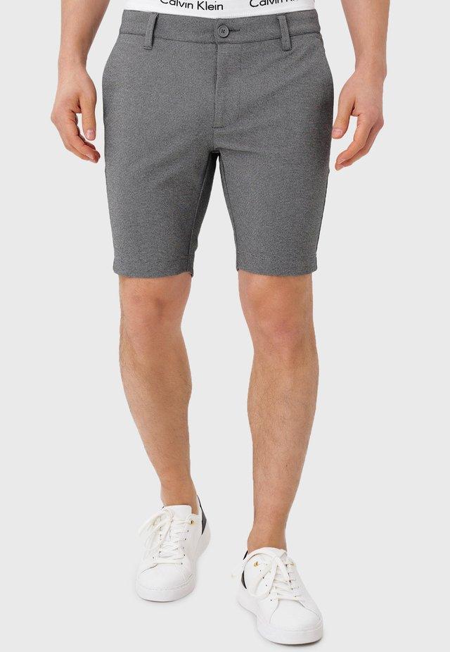 Shorts - lt grey mix