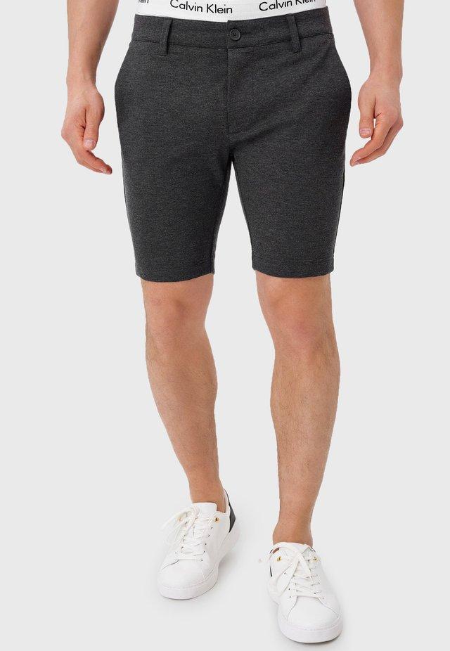 Shorts - charcoal mix