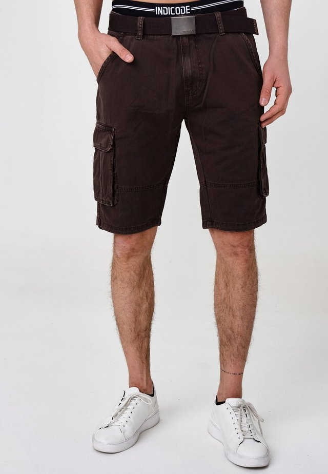 CARGO - Shorts - dk brown