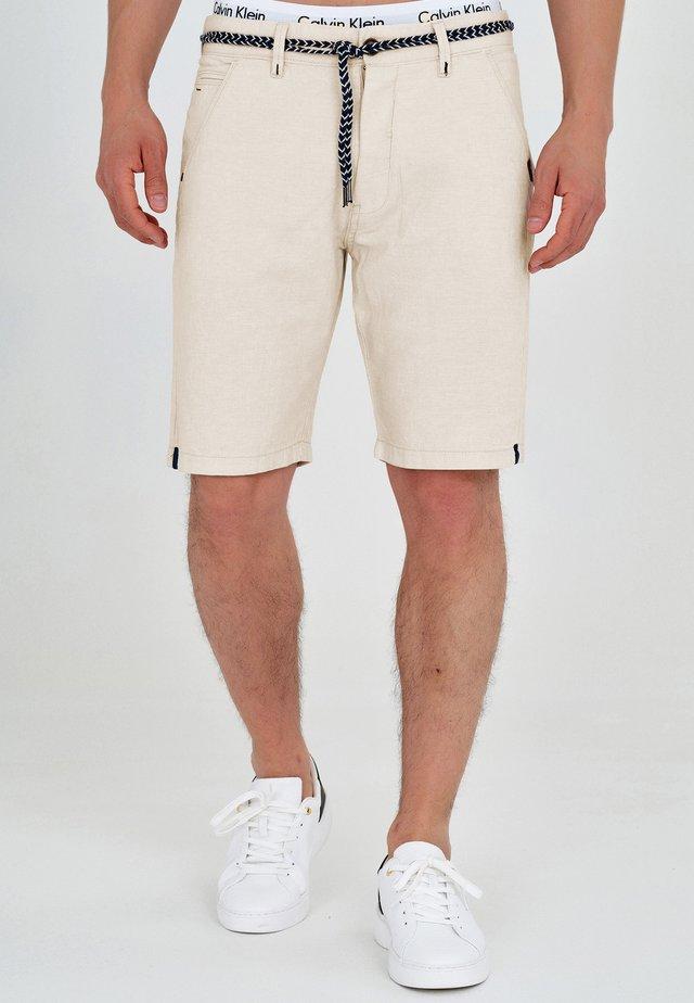 Denim shorts - fog