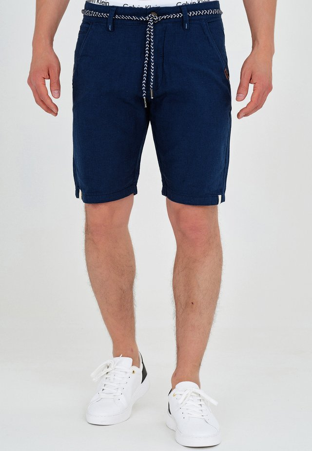 Shorts di jeans - navy