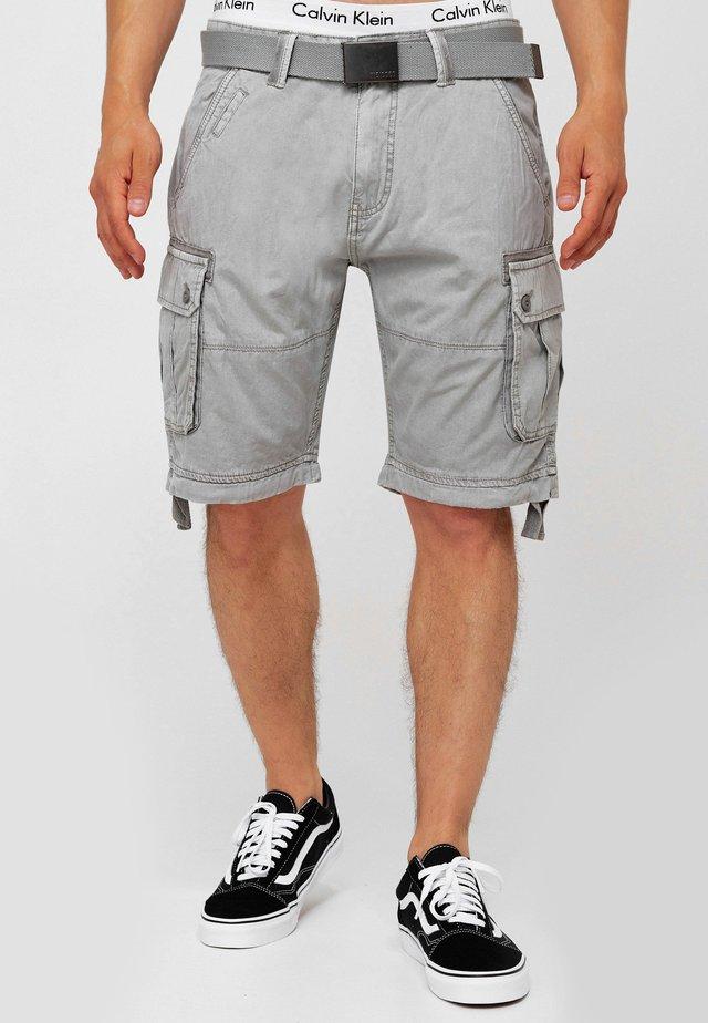 CARGO ABNER - Shorts - lt grey