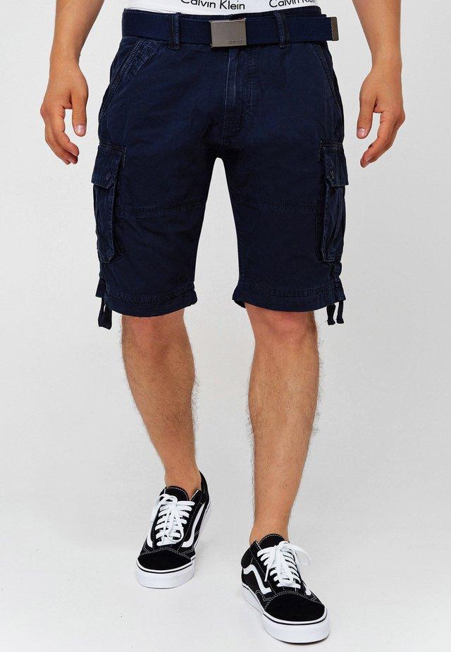 CARGO ABNER - Shorts - navy