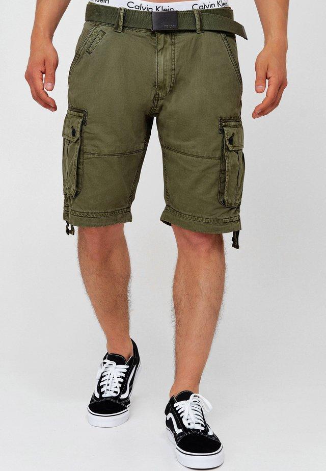 CARGO ABNER - Shorts - army