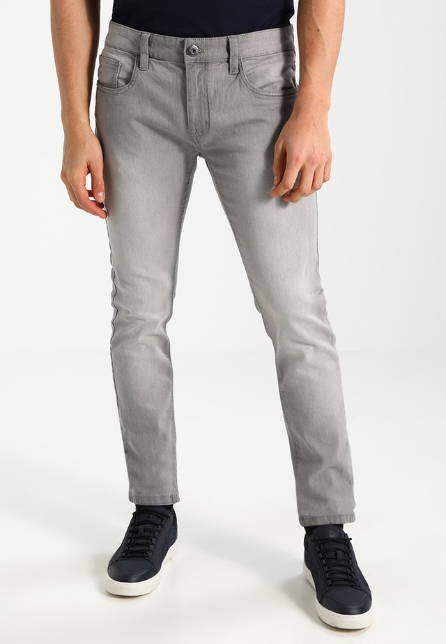 PITTSBURG - Jeans slim fit - light grey