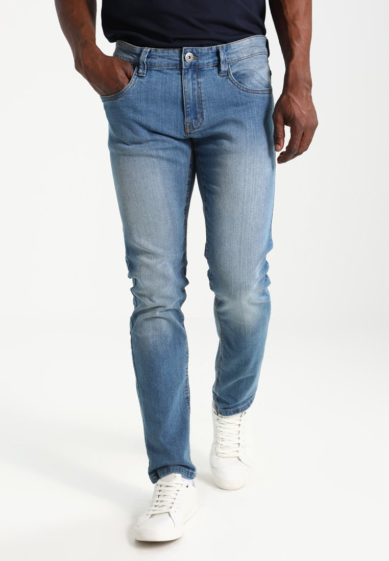INDICODE JEANS - PITTSBURG - Jeans Slim Fit - blue wash