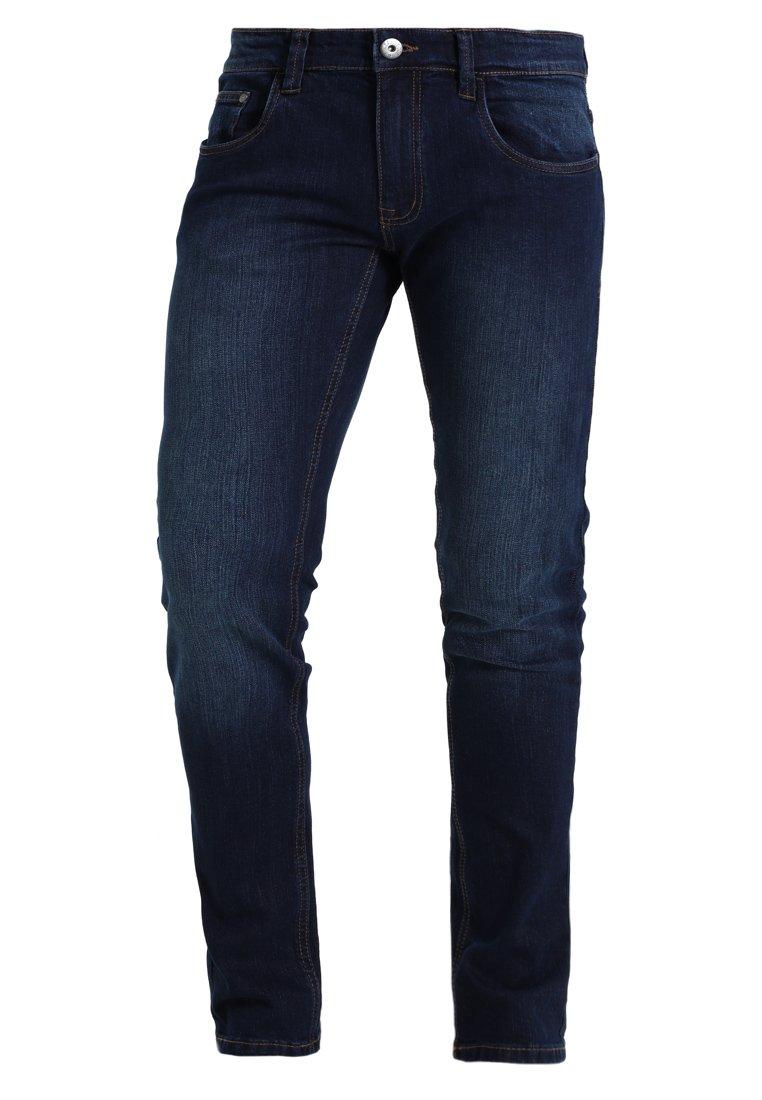 INDICODE JEANS PITTSBURG - Jeansy Slim Fit - dark blue