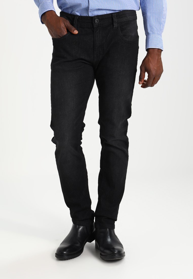 INDICODE JEANS - PITTSBURG - Jeans Slim Fit - black