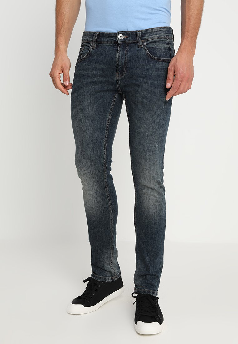 INDICODE JEANS - KENZA - Slim fit jeans - dirt wash