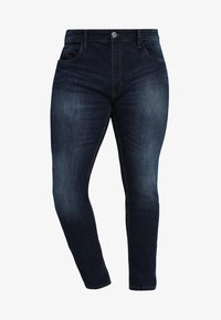 INDICODE JEANS - TONY - Slim fit -farkut - dark blue - 4