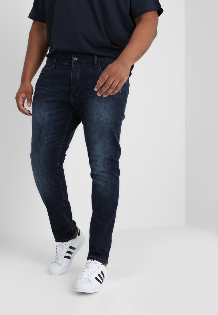 INDICODE JEANS - TONY - Slim fit -farkut - dark blue