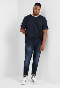 INDICODE JEANS - TONY - Slim fit -farkut - dark blue - 1
