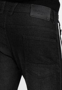 INDICODE JEANS - GORGE - Vaqueros slim fit - black - 6