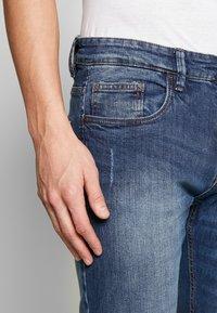 INDICODE JEANS - TONY - Jeans slim fit - mid indigo - 3