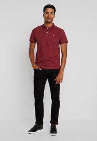 INDICODE JEANS - TONY - Jeans slim fit - ultra black - 1