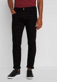 INDICODE JEANS - TONY - Jeans slim fit - ultra black - 0