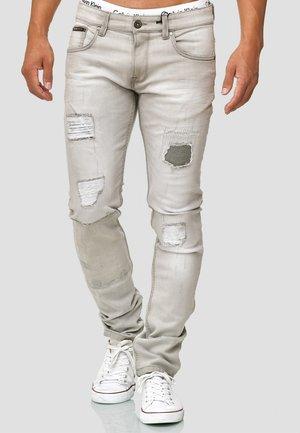 OHIO - Straight leg jeans - light grey