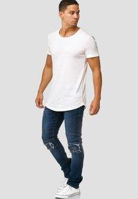 INDICODE JEANS - NEVADA - Slim fit jeans - blue - 1