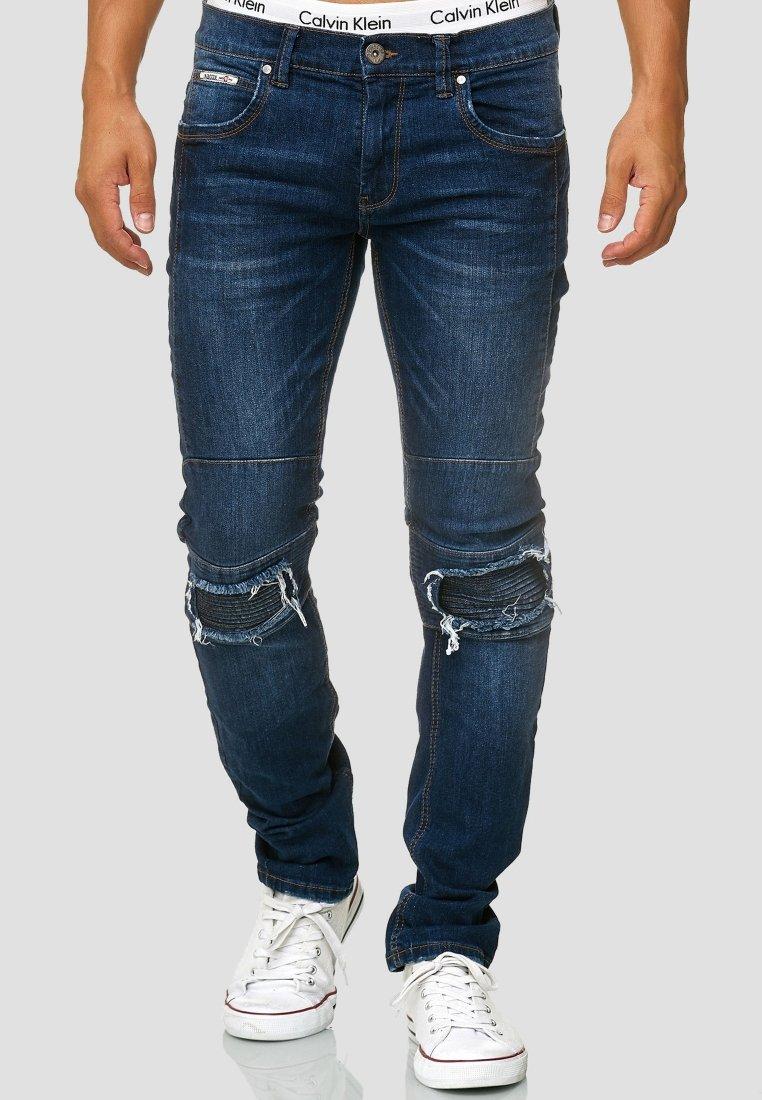 INDICODE JEANS - NEVADA - Slim fit jeans - blue