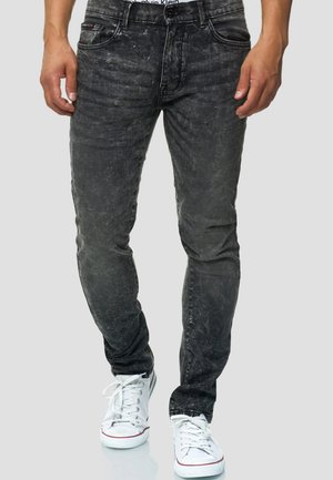 HYDRO FLEX - Jean slim - black