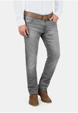 QUEBEC - Slim fit jeans - light grey