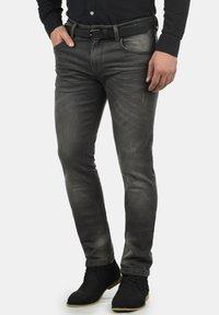 INDICODE JEANS - Slim fit jeans - dark grey - 0