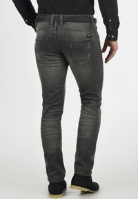 INDICODE JEANS - Slim fit jeans - dark grey - 1
