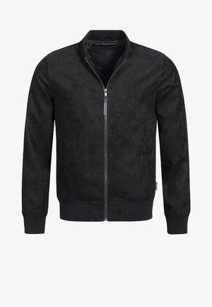 FORT WAYNE - Imitatieleren jas - black