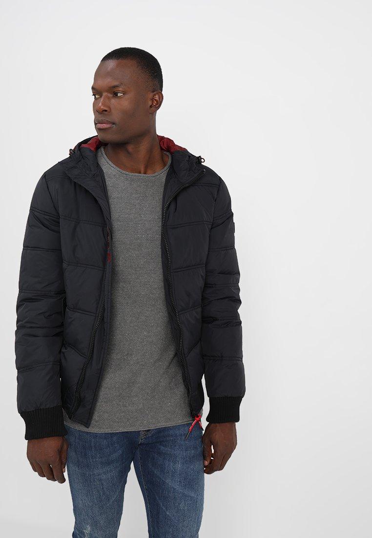INDICODE JEANS - ADRIAN - Winter jacket - schwarz