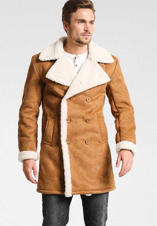 JOVANI - Short coat - camel