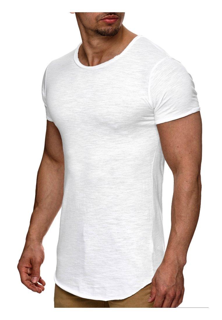INDICODE JEANS - WILBUR - Basic T-shirt - weiß