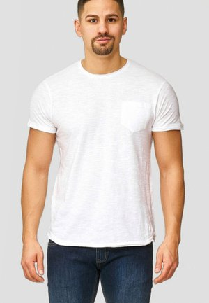 WILBUR - Print T-shirt - white
