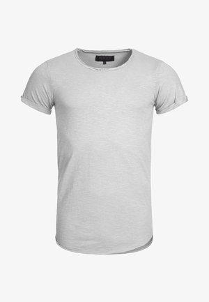 WILBUR - Print T-shirt - light grey