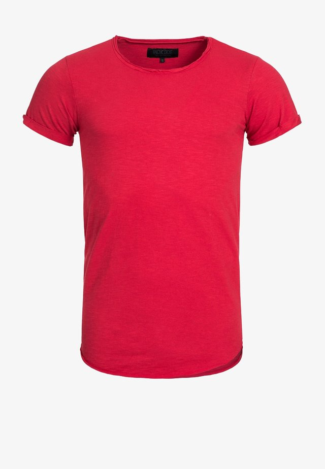 WILBUR - Print T-shirt - rot