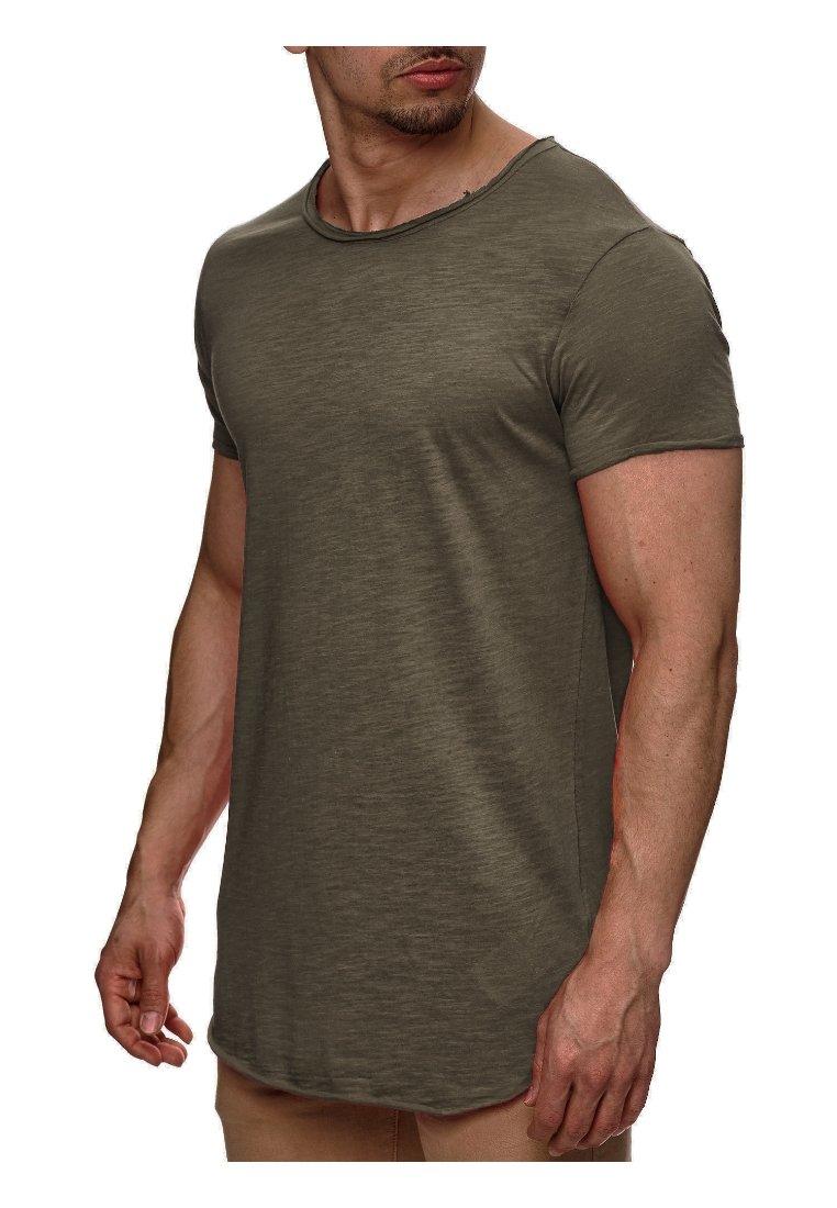 INDICODE JEANS - WILBUR - T-Shirt basic - grün