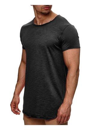 WILBUR - Print T-shirt - anthrazit