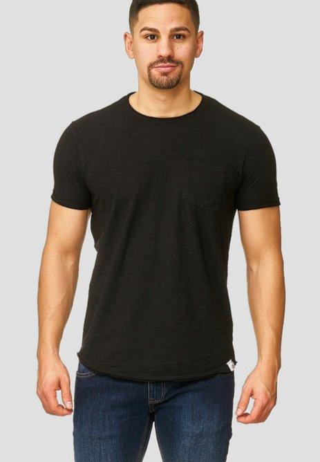 INDICODE JEANS - WILBUR - T-Shirt basic - black