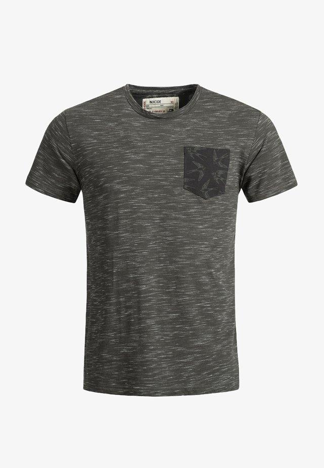 BLAINE - T-Shirt print - anthrazit