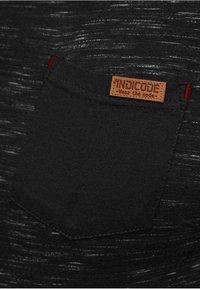 INDICODE JEANS - Print T-shirt - black - 4