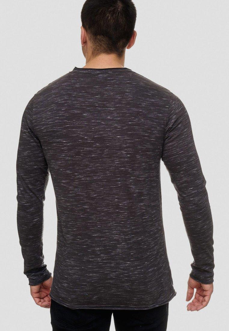 BakersfieldT Jeans Longues Manches Dark shirt Indicode Longsleeve À Grey 6gyYf7bv