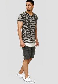 INDICODE JEANS - LUND - T-shirt basic - khaki - 1