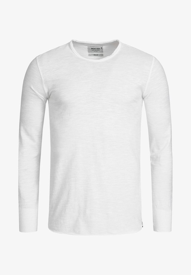 LONGSLEEVE WILLBUR - Long sleeved top - optical white