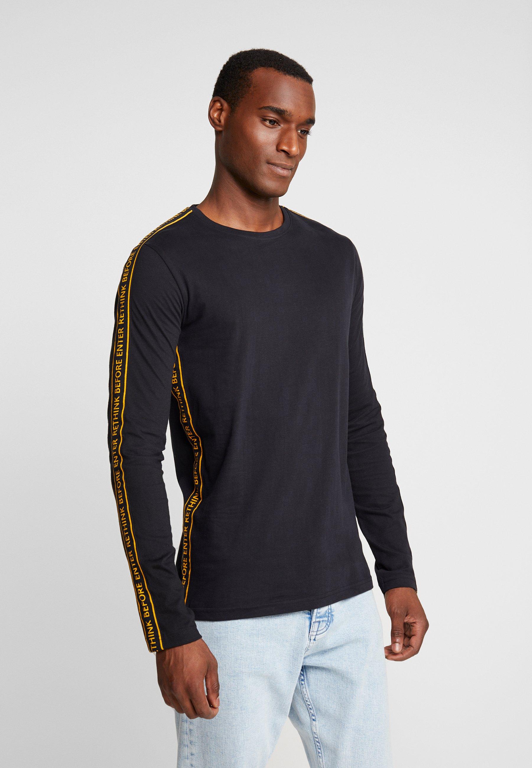 À Manches Indicode shirt Jeans Longues Black GreenlandT kX80OnwP