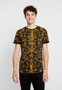 INDICODE JEANS - WALDEN - T-shirt imprimé - black - 0