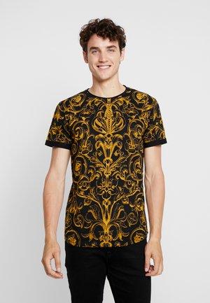 WALDEN - T-shirt imprimé - black