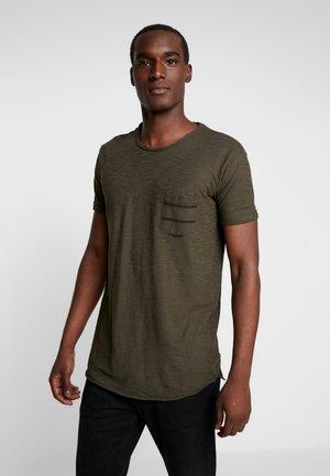 VILLENEUVE - T-Shirt print - army