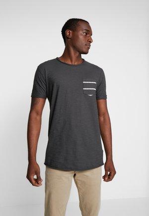 VILLENEUVE - T-shirt print - charcoal mix