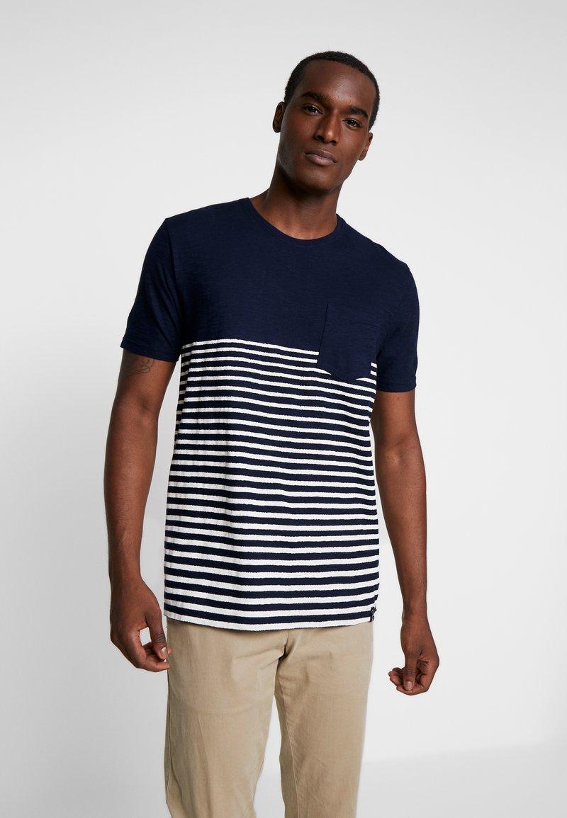 INDICODE JEANS - DURMFORD  - Camiseta estampada - navy