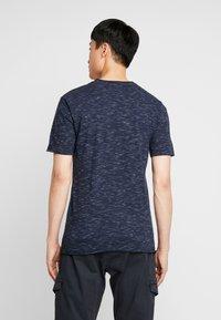 INDICODE JEANS - HULSA - T-shirt print - navy - 2